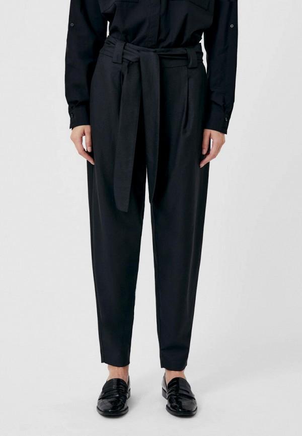 женские зауженные брюки finn flare, черные
