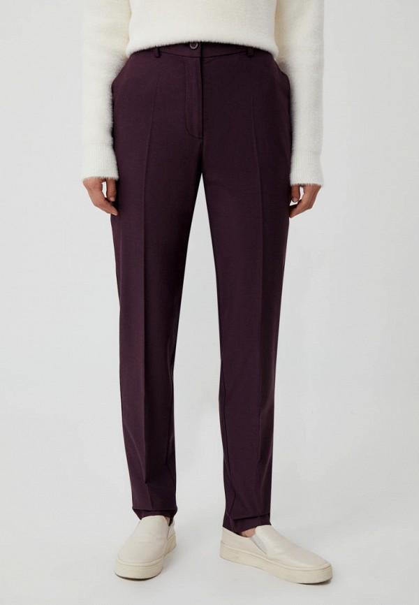 женские повседневные брюки finn flare, фиолетовые