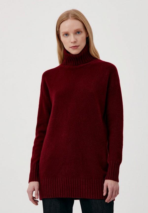 женский свитер finn flare, красный