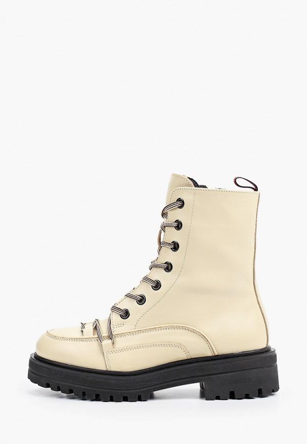 женские высокие ботинки nexpero, бежевые