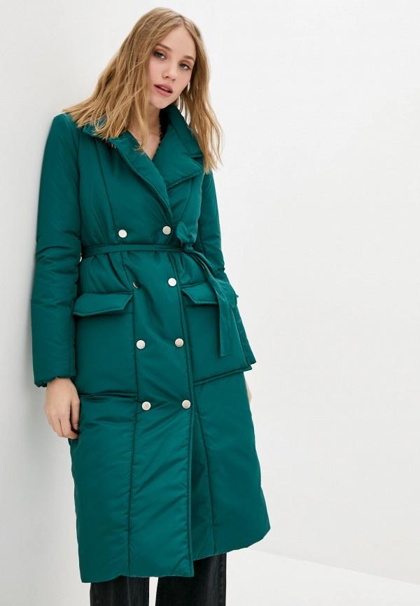 женская куртка garne, зеленая