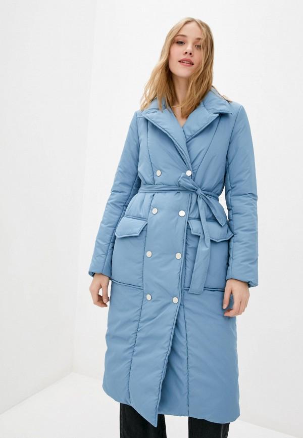 женская куртка garne, голубая