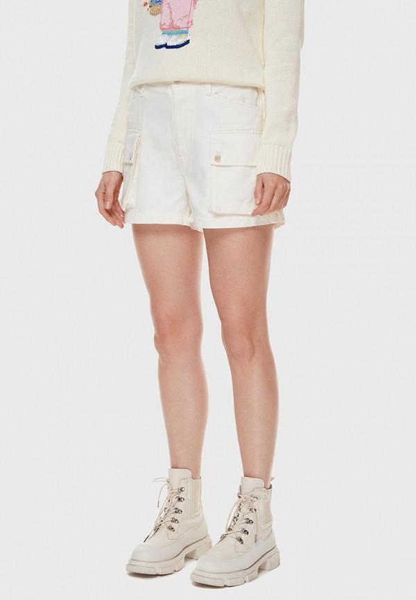 женские повседневные шорты polo ralph lauren, бежевые