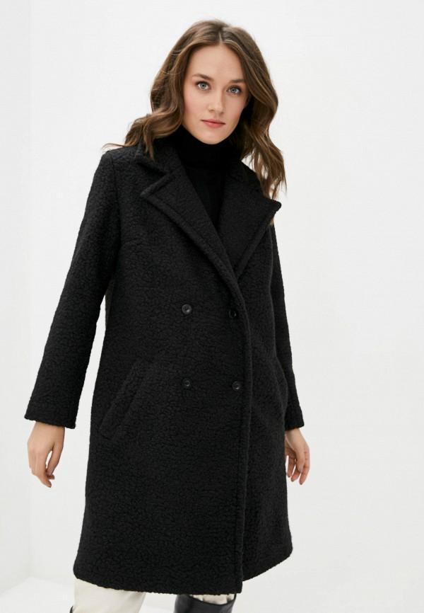 женское пальто garne, черное