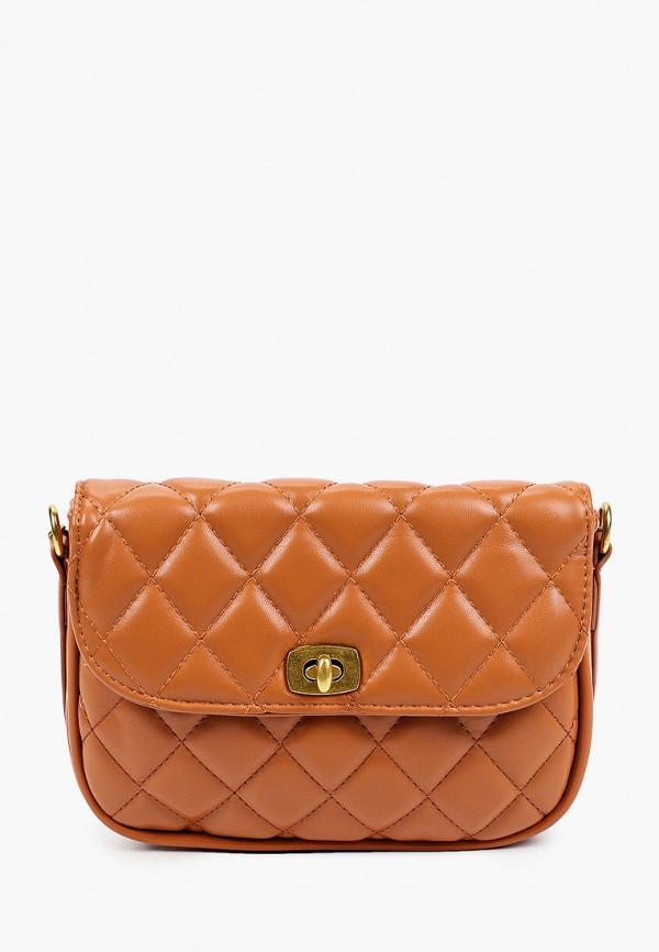 женская сумка через плечо nataco, коричневая