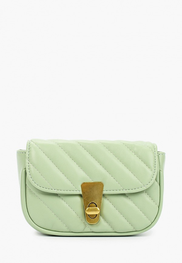 женская сумка через плечо nataco, зеленая