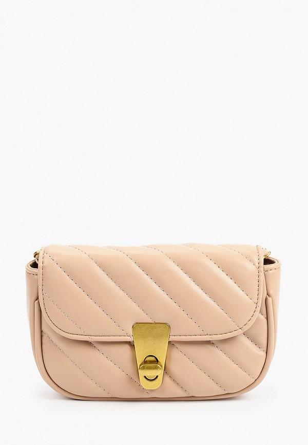 женская сумка через плечо nataco, бежевая
