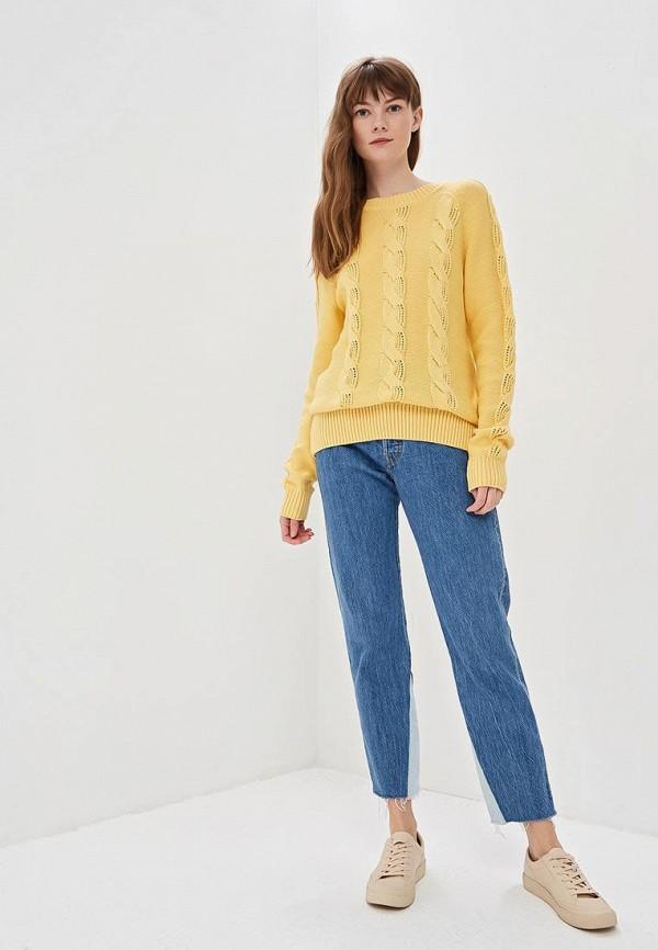Фото 2 - Женский джемпер Baon желтого цвета