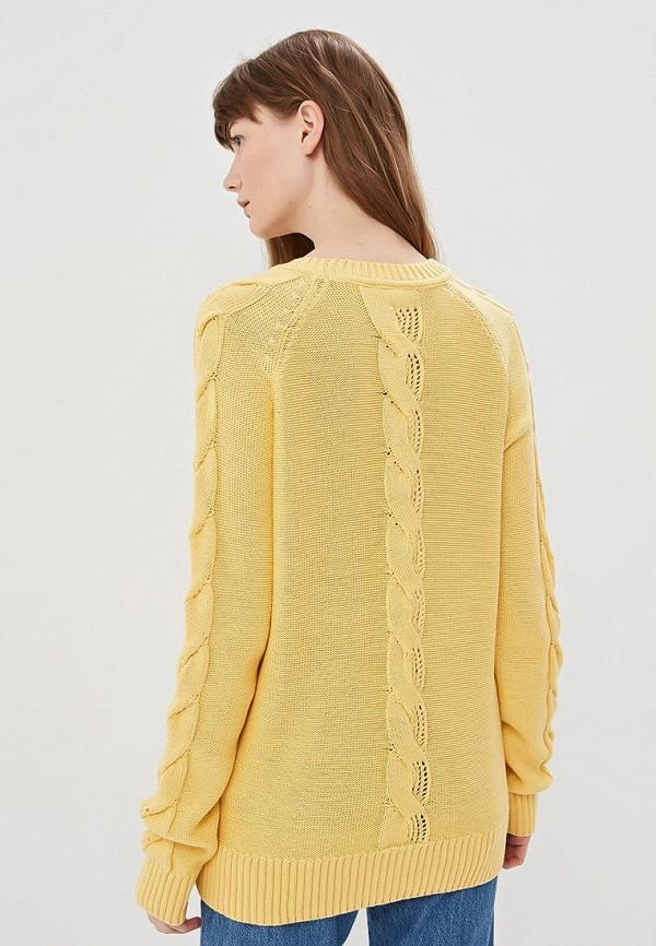 Фото 3 - Женский джемпер Baon желтого цвета