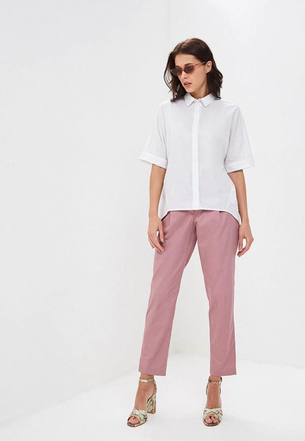 Фото 2 - Женские брюки Baon розового цвета
