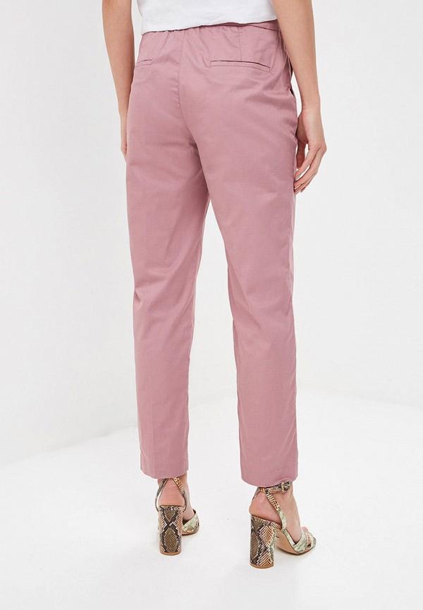 Фото 3 - Женские брюки Baon розового цвета