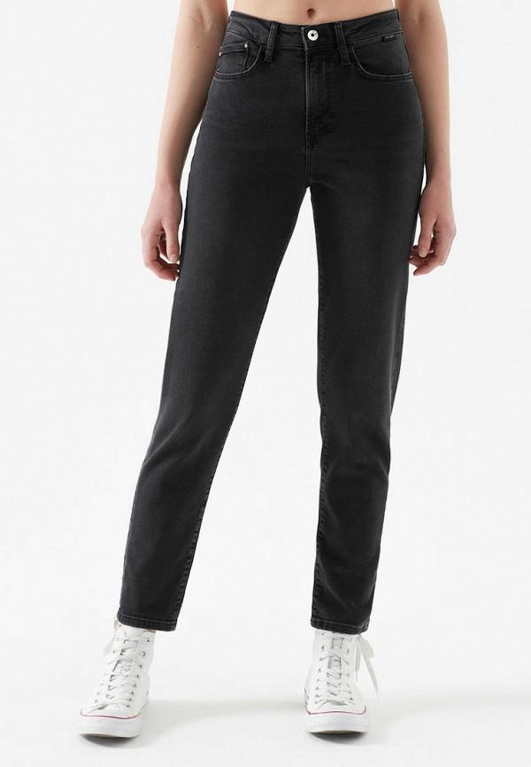 женские прямые джинсы mavi, черные