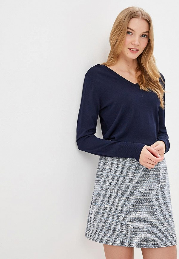 женский пуловер perspective, синий