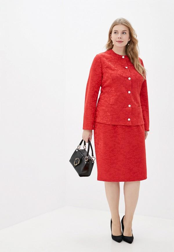 женский костюм prewoman, красный