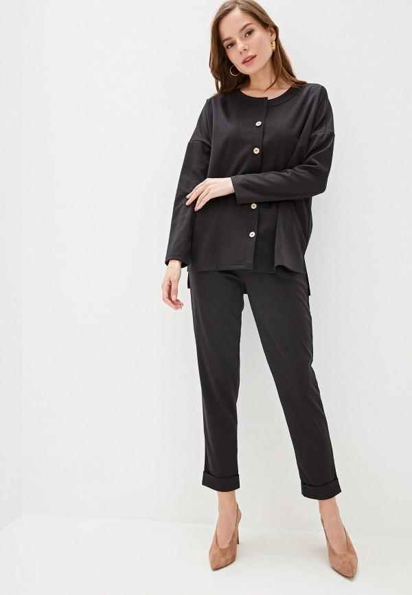 женский костюм vera nicco, черный