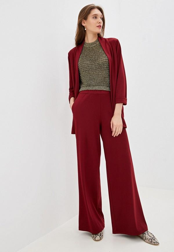 женский костюм vera nicco, бордовый