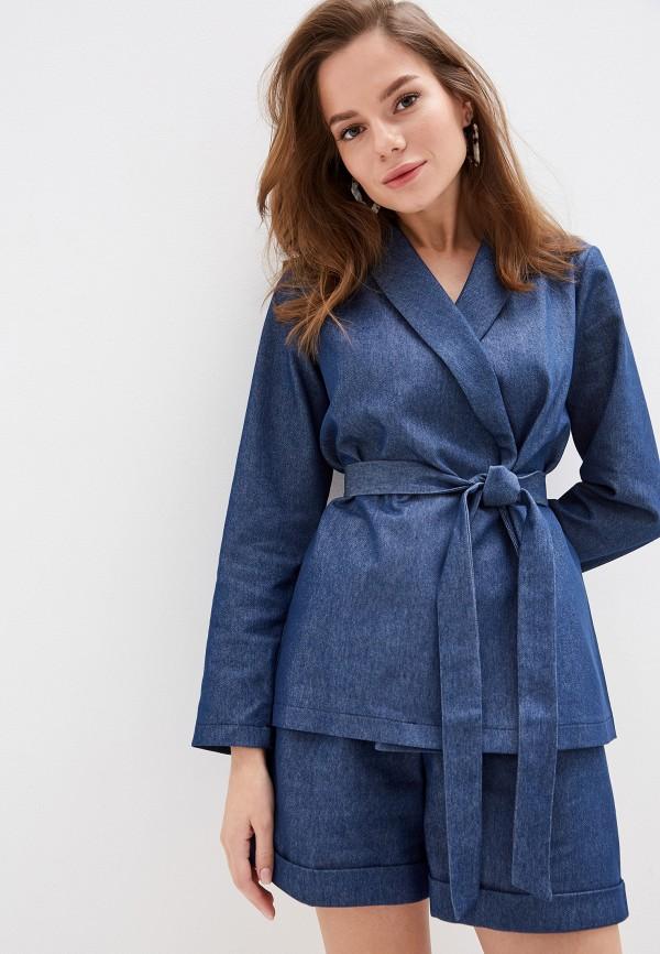 женский костюм vera nicco, синий