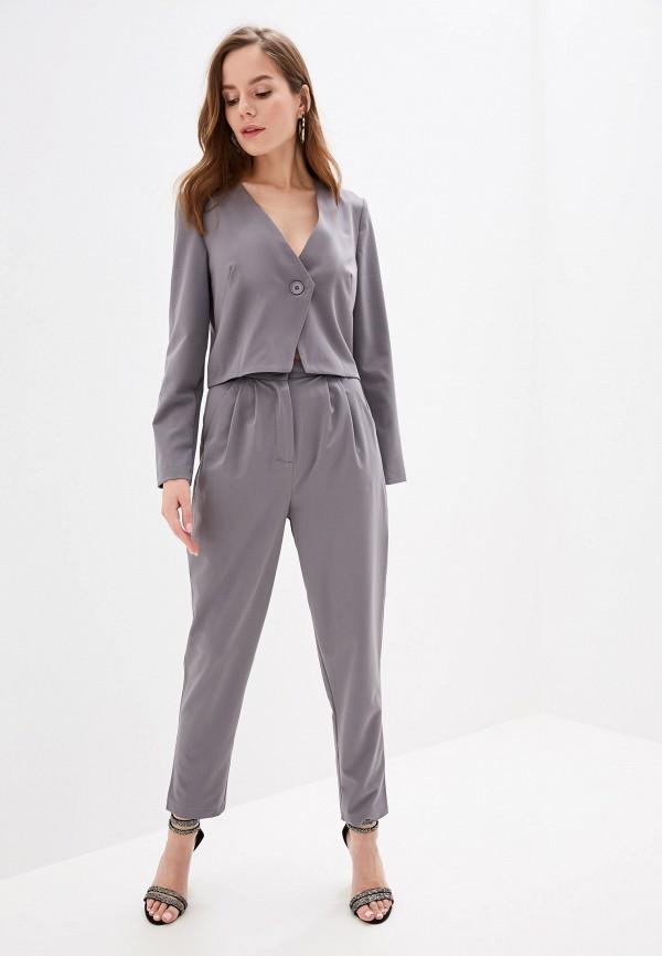 женский костюм vera nicco, серый