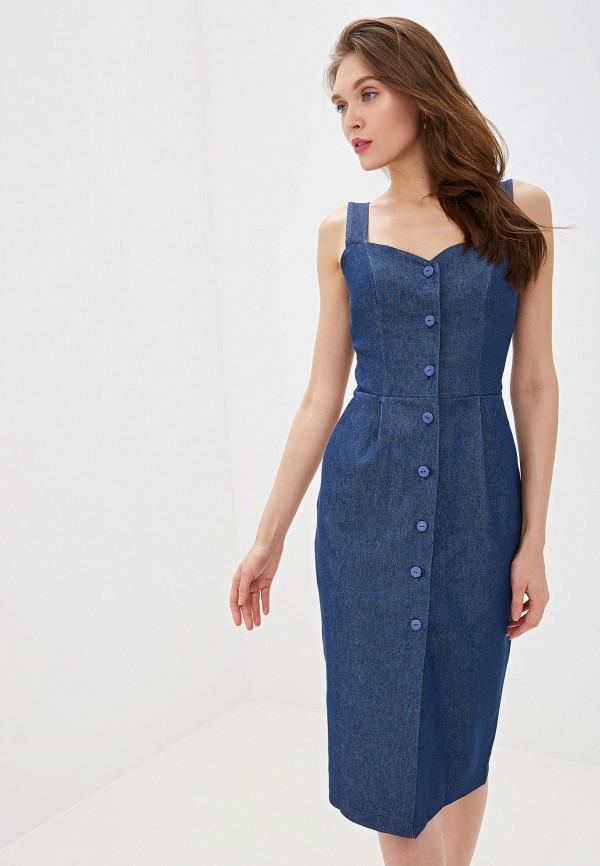 Платье джинсовое Vera Nicco Vera Nicco MP002XW0DFD1 юбка vera nicco vera nicco mp002xw14d40