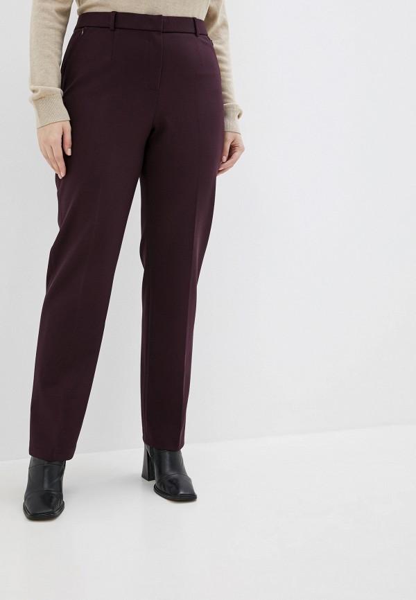 женские брюки мадам т, фиолетовые