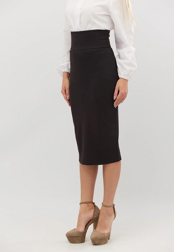 женская зауженные юбка criss, черная