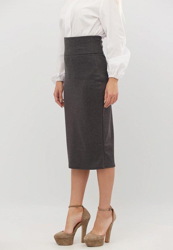 женская зауженные юбка criss, серая