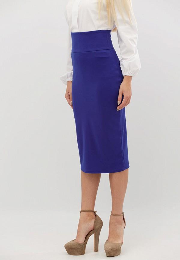женская зауженные юбка criss, синяя