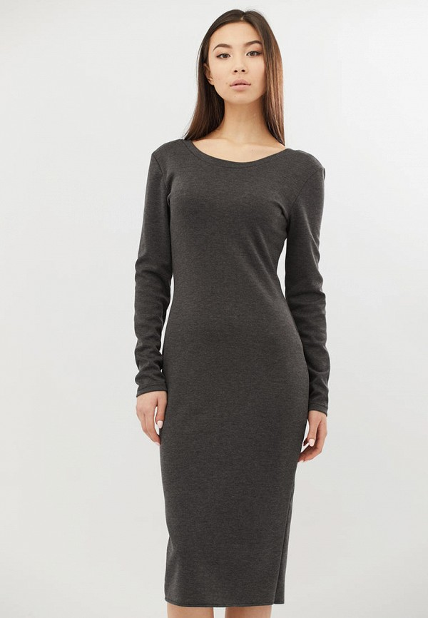 женское платье criss, серое