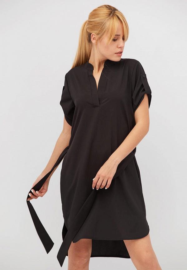 женское повседневные платье criss, черное