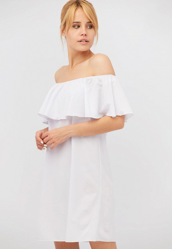 женское платье criss, белое