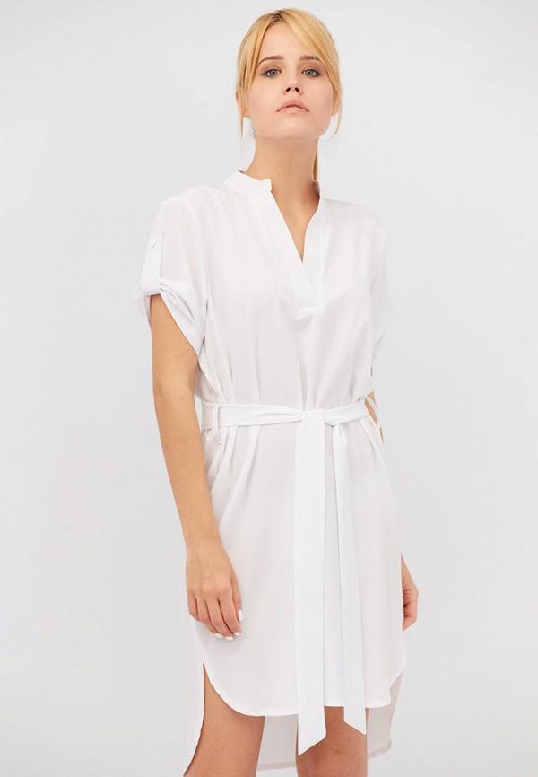 женское повседневные платье criss, белое
