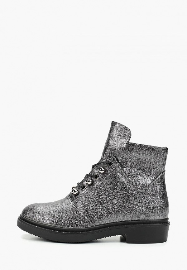 женские ботинки t.taccardi, серебряные