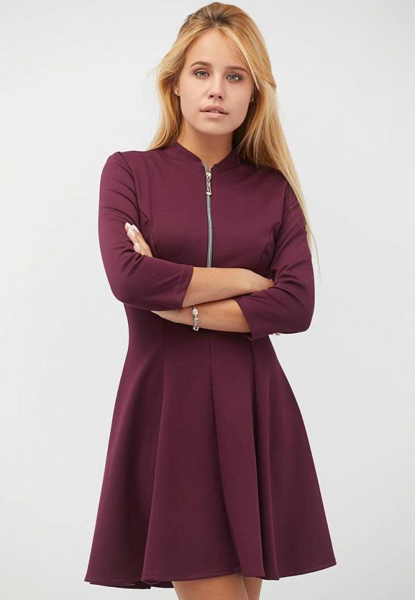 женское повседневные платье criss, фиолетовое