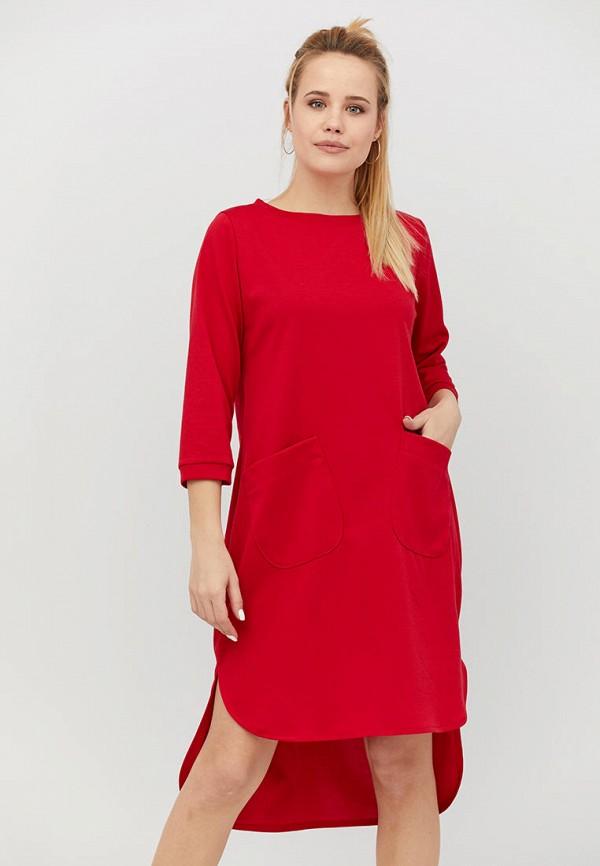 женское платье criss, красное