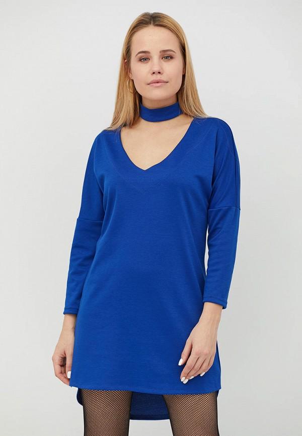 женское платье criss, синее