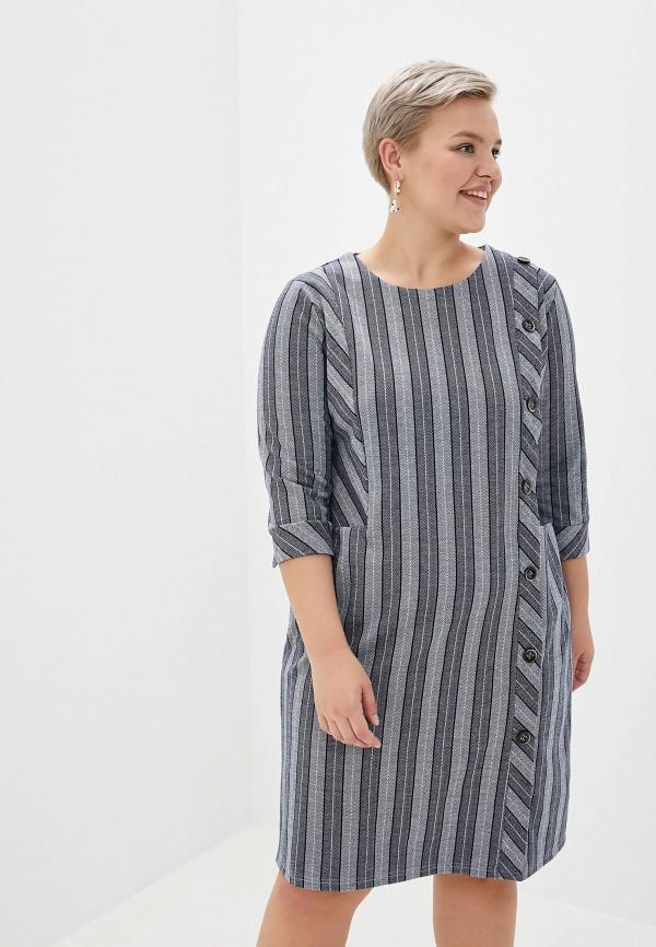 женское платье milanika, серое