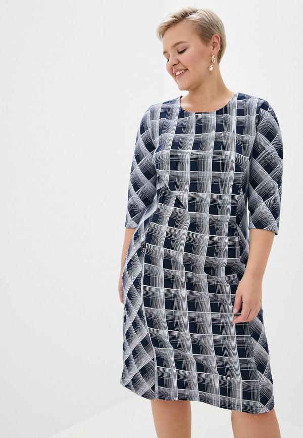 женское платье milanika, синее