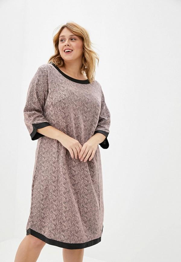 женское платье milanika, розовое