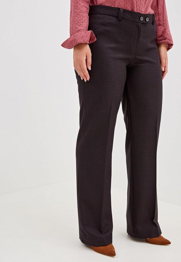 женские брюки viserdi, коричневые