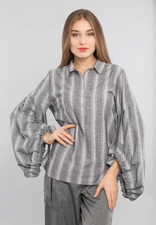 женская блузка maxa, серая