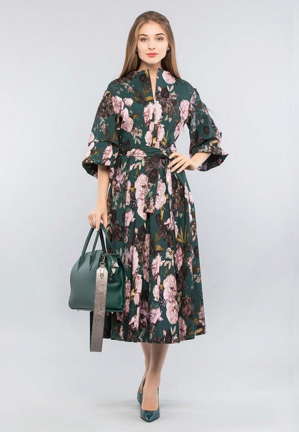 женское вечерние платье maxa, зеленое