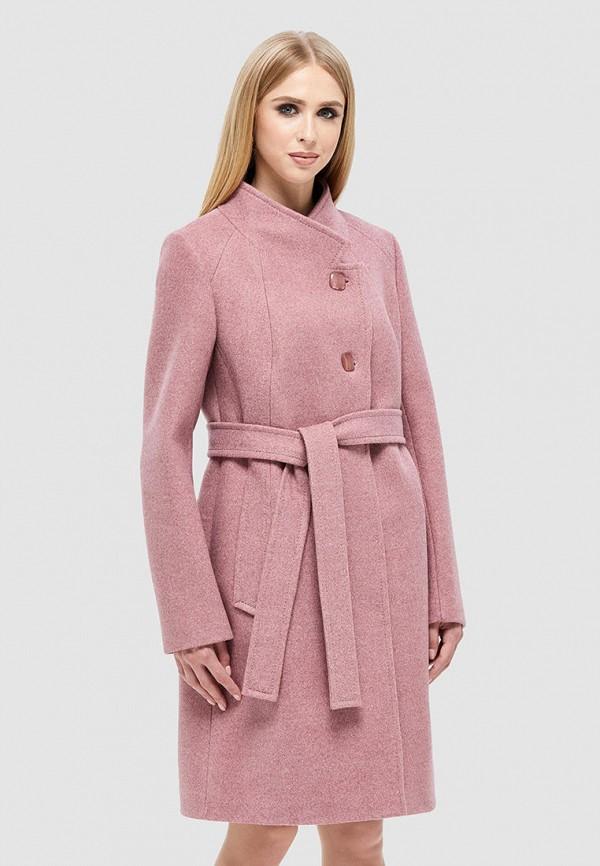 женское пальто danna, розовое