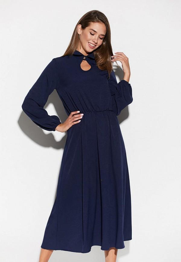 женское повседневные платье karree, синее