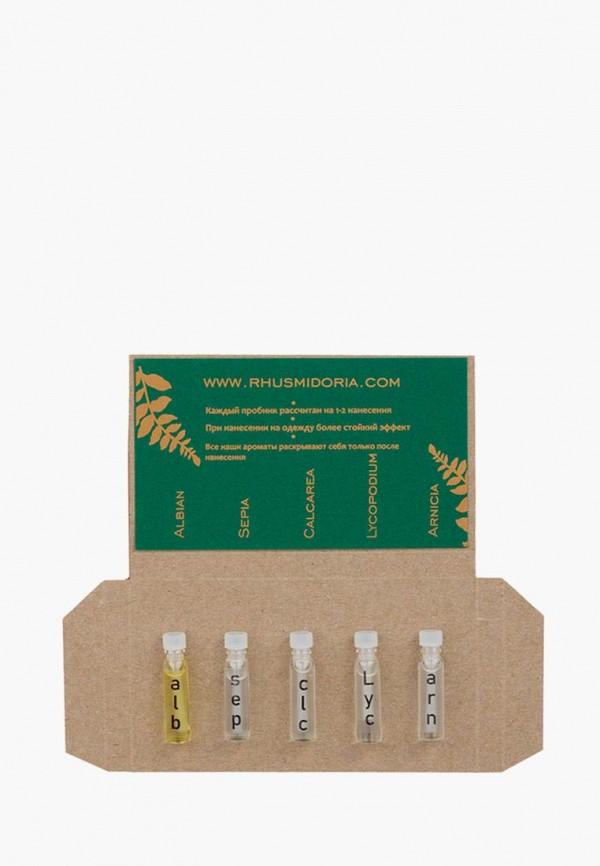 Набор парфюмерный Rhus Midoria, Прозрачный, 5*1.2 мл