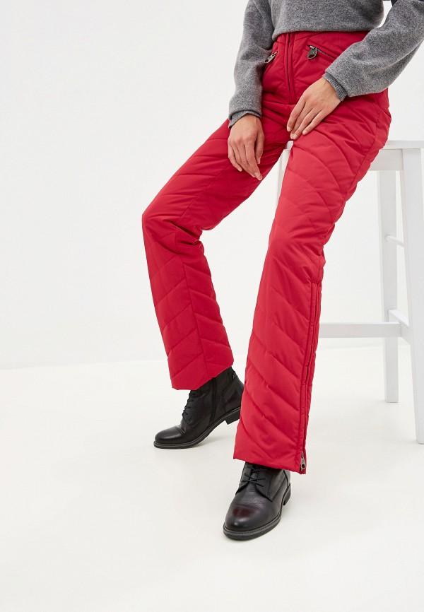 женские брюки miss naumi, красные