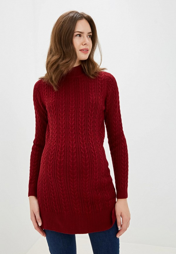 женское платье budumamoy, бордовое