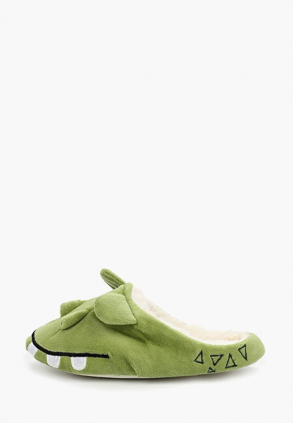женские тапочки halluci, зеленые