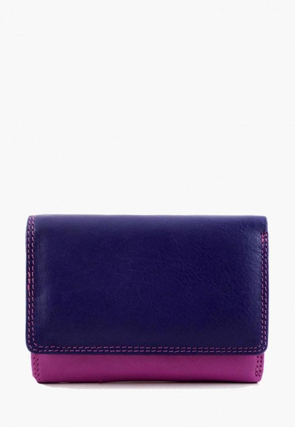 женский кошелёк visconti, фиолетовый