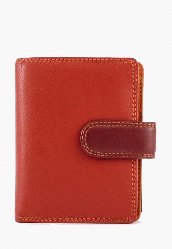 женский кошелёк visconti, оранжевый