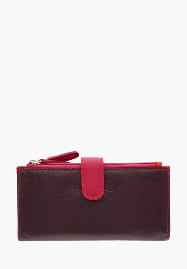 женский кошелёк visconti, бордовый
